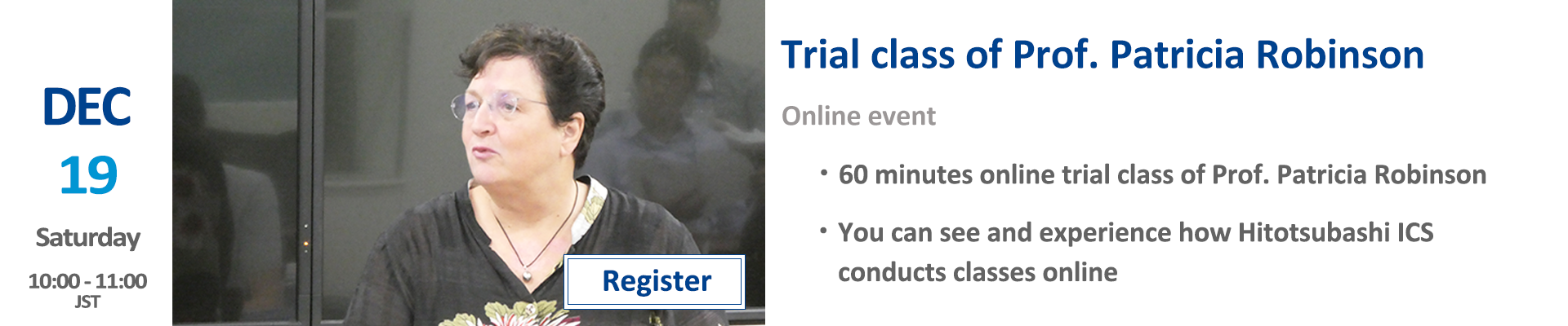 trial with prof tish